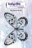 Big Butterfly 2 A6 Red Rubber Stamp by Kay Halliwell-Sutton