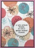 Fleurs II A6 Red Rubber Stamp by Kay Halliwell-Sutton