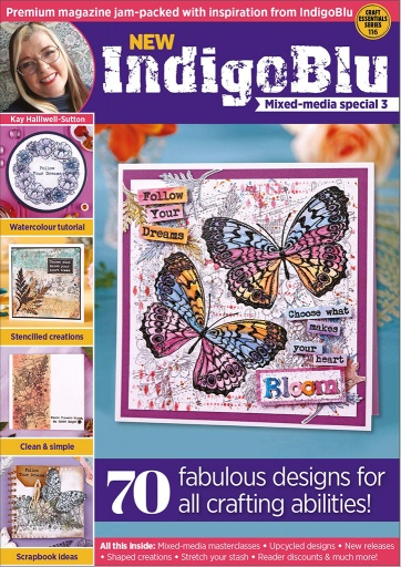 IndigoBlu Mixed Media Magazine Box Kit 3
