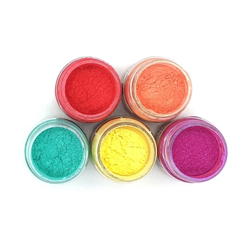 Luscious Pigment Powder - Cottage Garden Set (5x25ml)