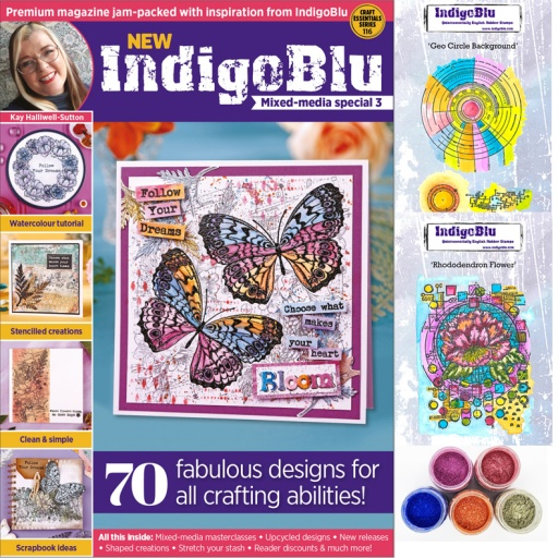 IndigoBlu Mixed Media Magazine Box Kit BIG Bundle