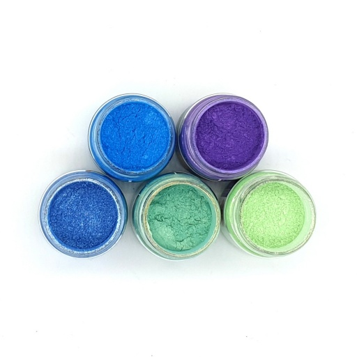 Luscious Pigment Powder - Mermaid Set (5x25ml)