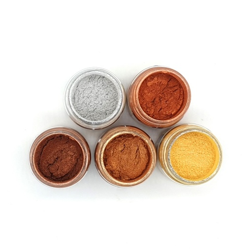 Luscious Pigment Powder - Metallics Set (5x25ml)