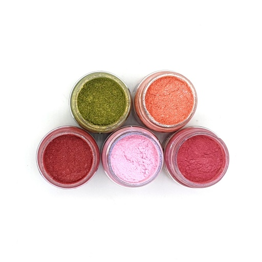 Luscious Pigment Powder - Vintage Florals Set (5x25ml)