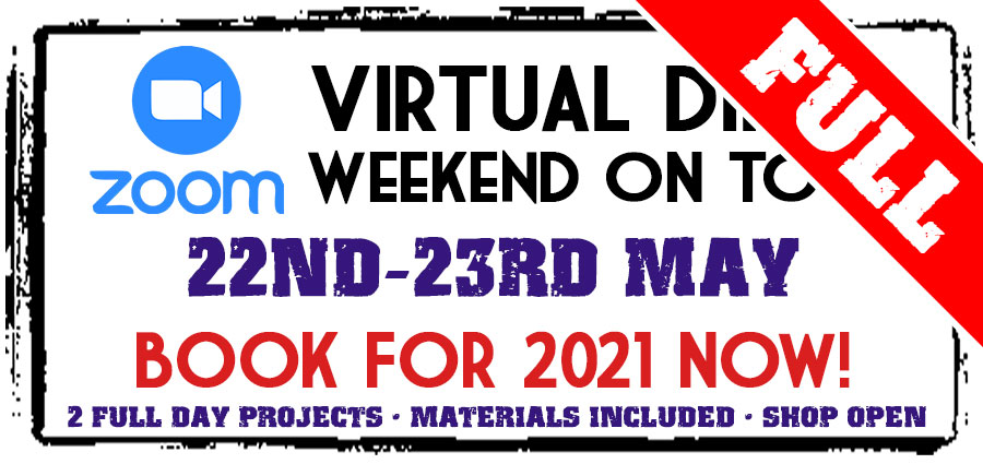 Virtual Dirty Weekend - 22-23rd May 2021 (Deposit)