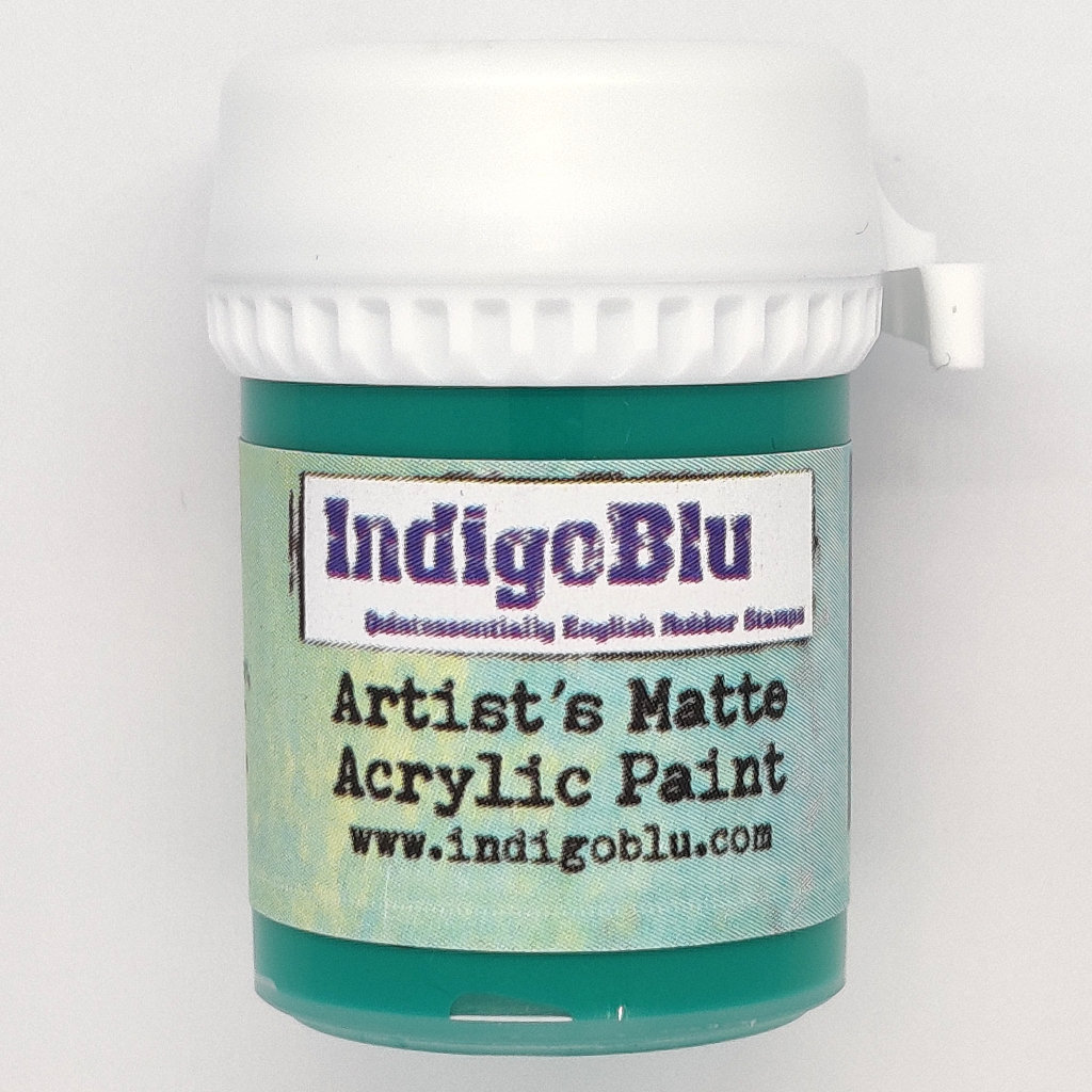 Artists Matte Acrylic Paint - Hunter Green