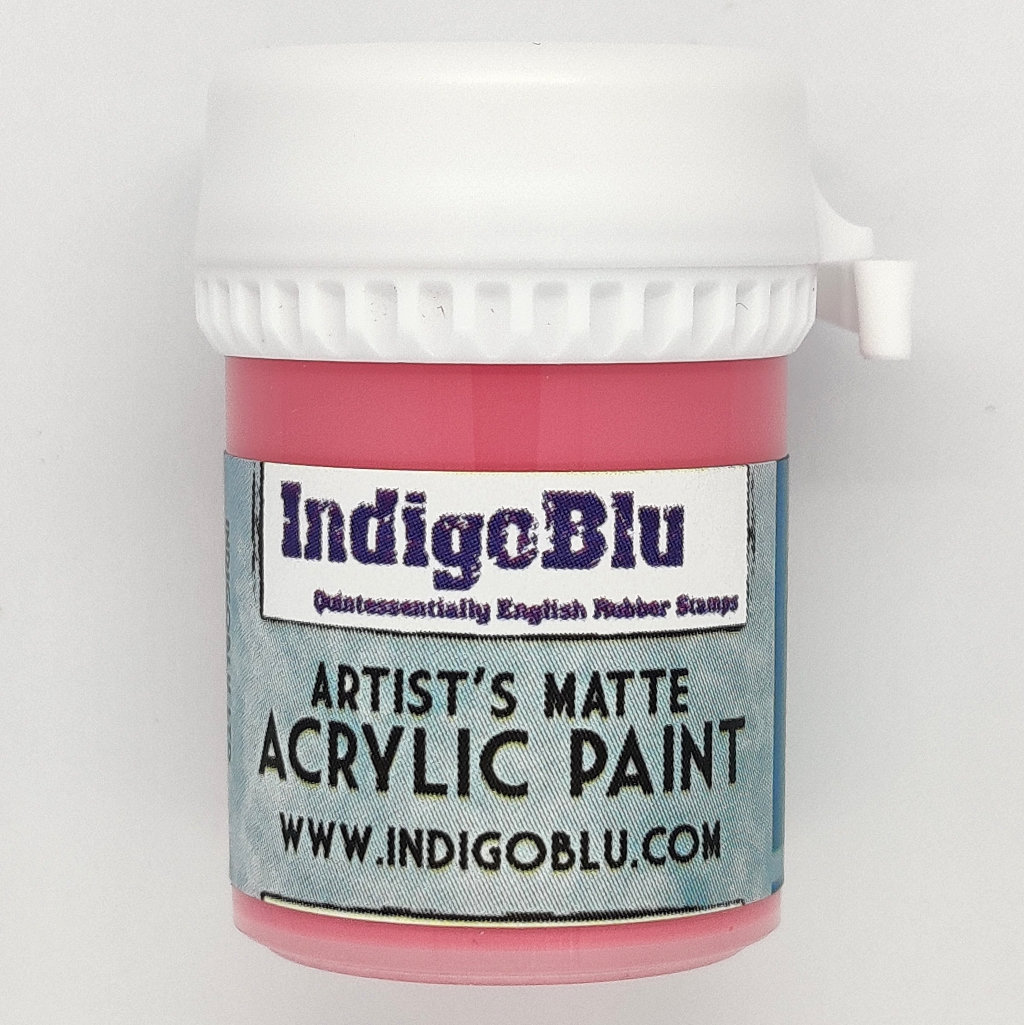 Artists Matte Acrylic Paint - Rouge