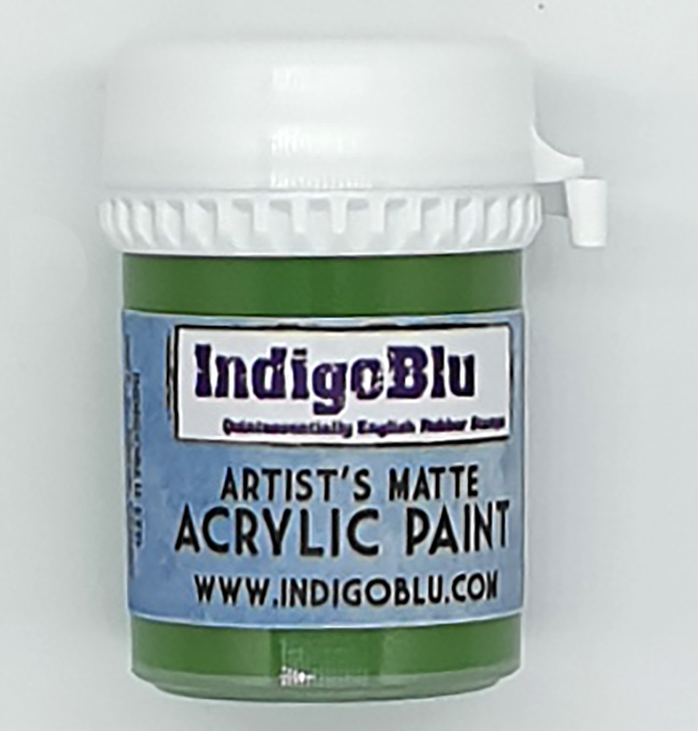 Artists Matte Acrylic Paint - Run Forrest Run