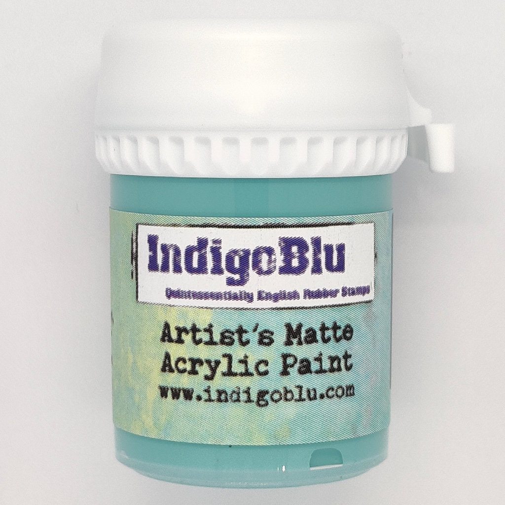 Artists Matte Acrylic Paint - Townhouse Teal