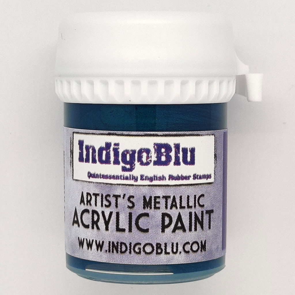 Artists Metallic Acrylic Paint - Merlin