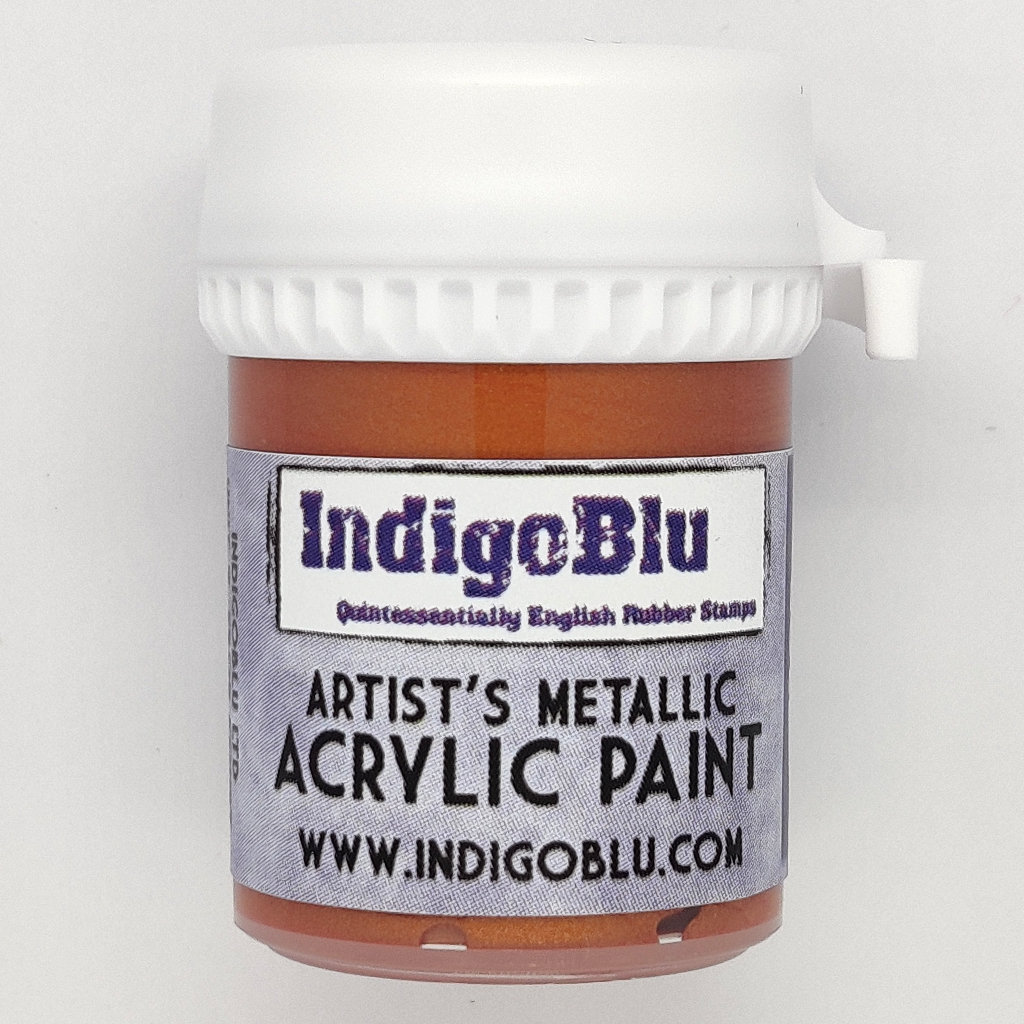 Artists Metallic Acrylic Paint - Rose Gold
