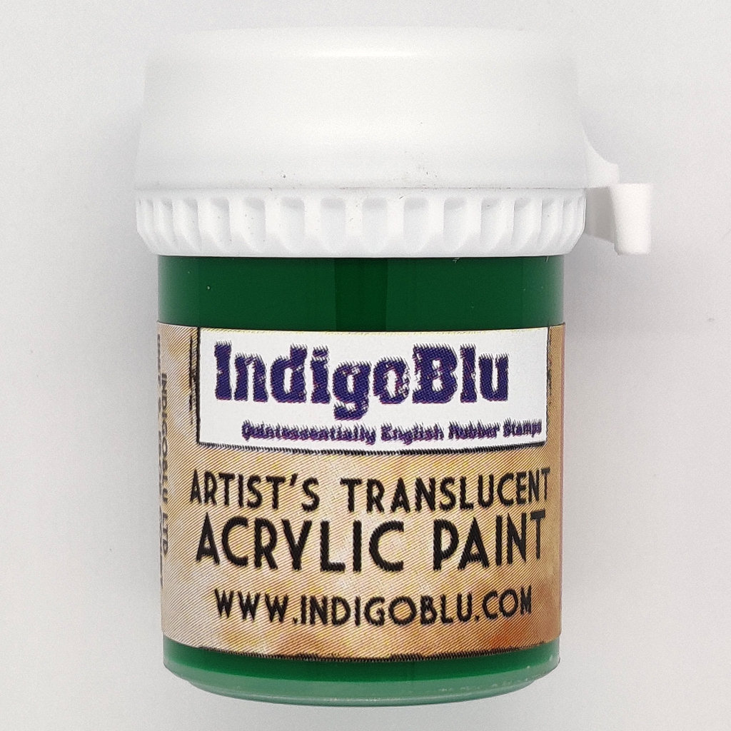 Artists Translucent Acrylic Paint - Racing Green