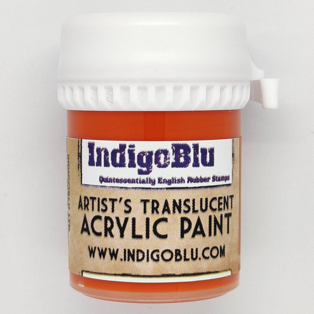 Artists Translucent Acrylic Paint - Tiger Lilly