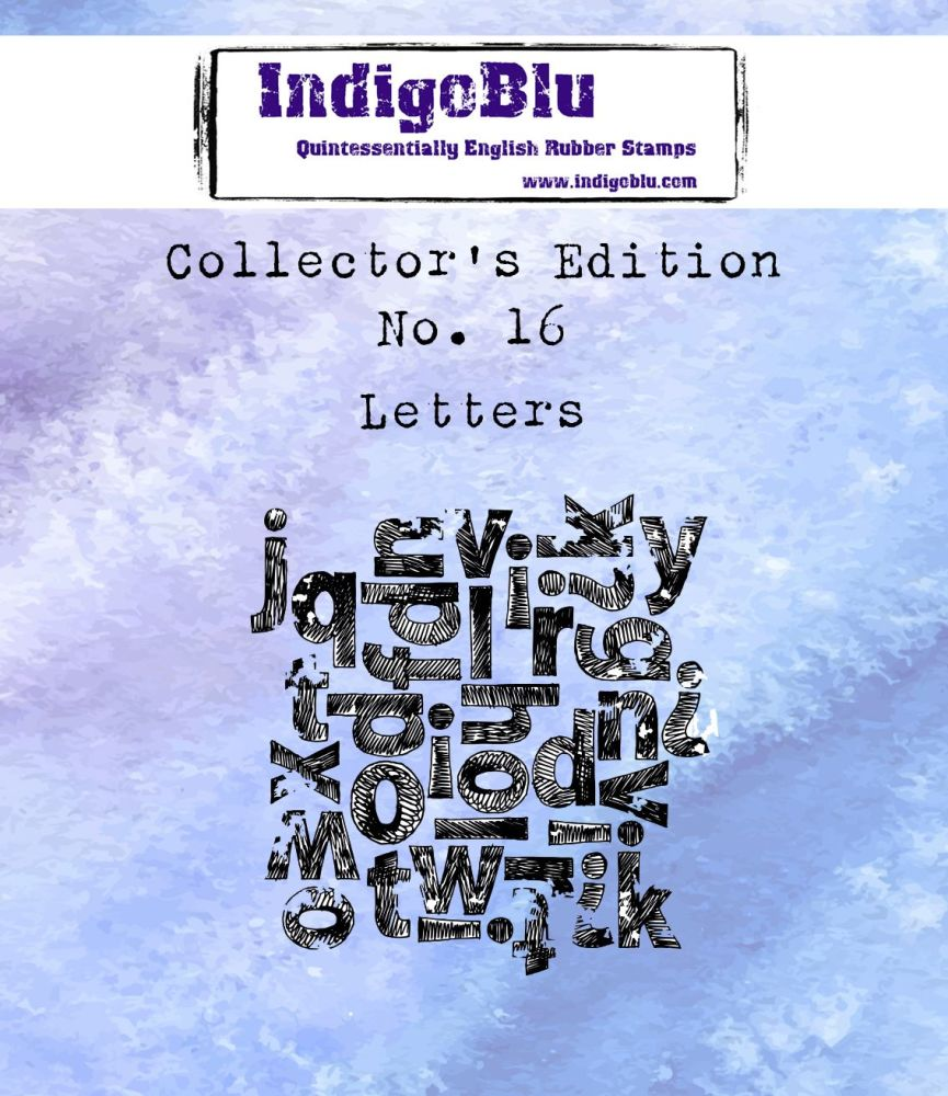 Collectors Edition - Number 16 - Letters