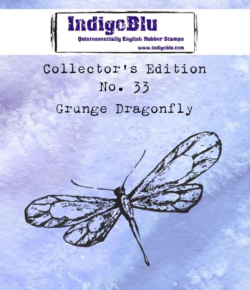 Collectors Edition - Number 33 - Grunge Dragonfly