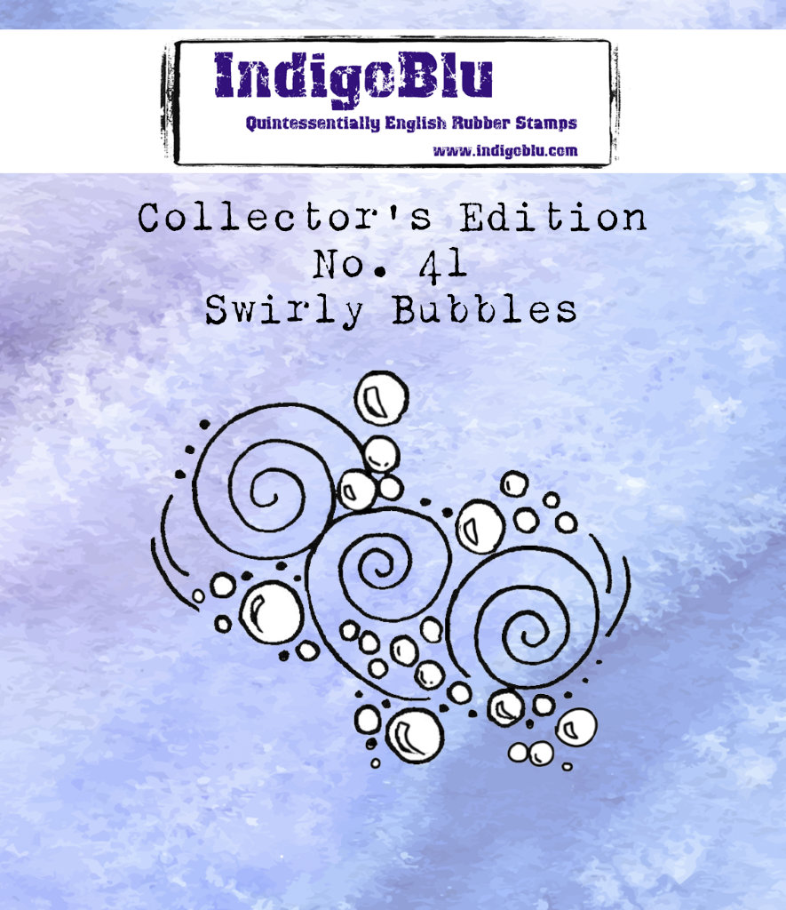 Collectors Edition - Number 41 - Swirly Bubbles
