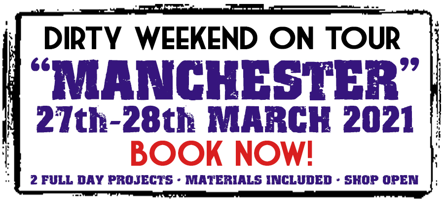 Dirty Weekend - Manchester 27-28th March 2021 (Deposit)