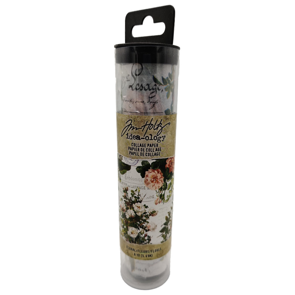 Tim Holtz - Idea-ology Floral Collage Paper
