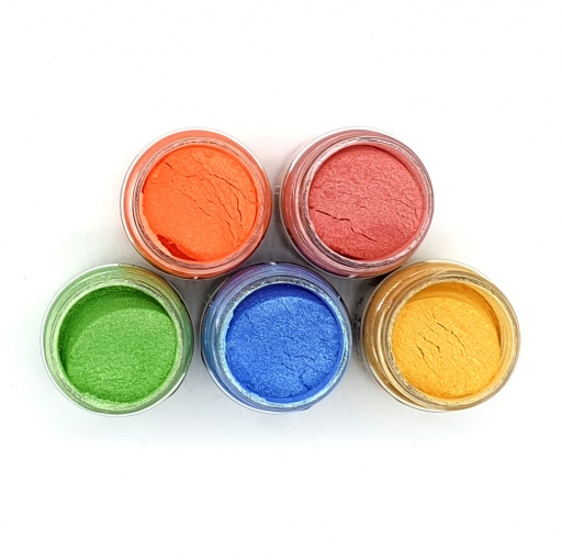 Luscious Pigment Powder - Spring in your Step (5x25ml)