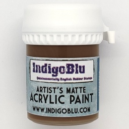 Artists Matte Acrylic Paint - Hot Cocoa