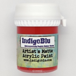 Artists Matte Acrylic Paint - Postbox Red