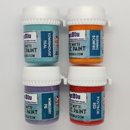 Artists Matte Acrylic Paint - Set 1 (4x20ml)