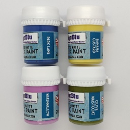 Artists Matte Acrylic Paint - Set 3 (4x20ml)