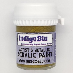 Artists Metallic Acrylic Paint - Brass Monkey