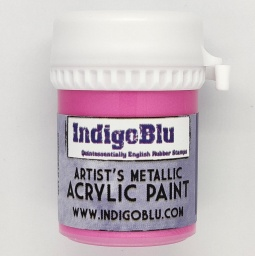 Artists Metallic Acrylic Paint - Cinderella (20ml)