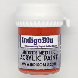 Artists Metallic Acrylic Paint - Dragon Fire (20ml)