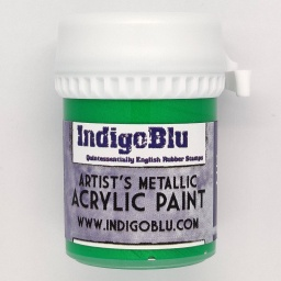 Artists Metallic Acrylic Paint - Emerald City (20ml)