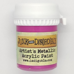 Artists Metallic Acrylic Paint - Made Em Blush