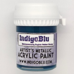 Artists Metallic Acrylic Paint - Merlin (20ml)