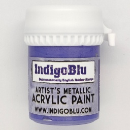 Artists Metallic Acrylic Paint - Royal Purple (20ml)