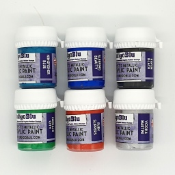 Artists Metallic Acrylic Paint - Set 1 (6x20ml)