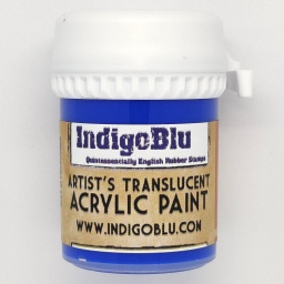 Artists Translucent Acrylic Paint - Bluebell