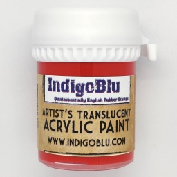 Artists Translucent Acrylic Paint - Red Hot Chilli