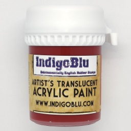 Artists Translucent Acrylic Paint - Rossetti Red