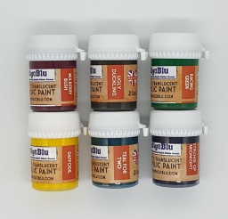 Artists Translucent Acrylic Paint - Set 2 (6x20ml)