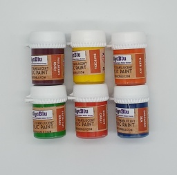 Artists Translucent Acrylic Paint - Set 4 (6x20ml)