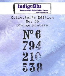 Collectors Edition - Number 36 - Grunge Numbers