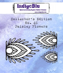 Collectors Edition - Number 46 - Paisley Flowers