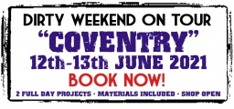 Dirty Weekend - Coventry 12-13th June 2021 (Deposit)