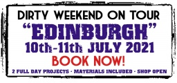 Dirty Weekend - Edinburgh 10-11th July 2021 (Deposit)