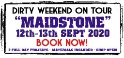 Dirty Weekend - Maidstone 12-13th September 2020 (Deposit)