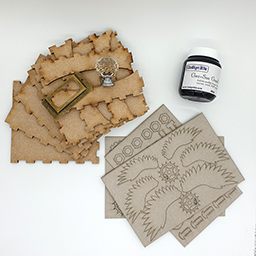 IndigoBlu Facebook Project - Mixed Media Box Kit