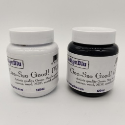 Gesso White 120ml & Gesso Black 120ml