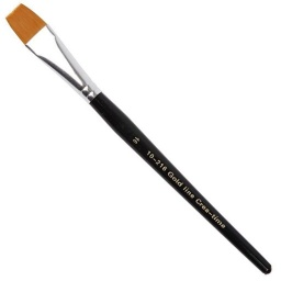 Gold Line Artist Brush - Size 16 flat