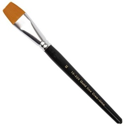 Gold Line Artist Brush - Size 20 flat