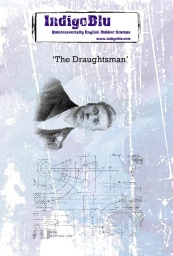 The Draughtsman A6 Red Rubber Stamp